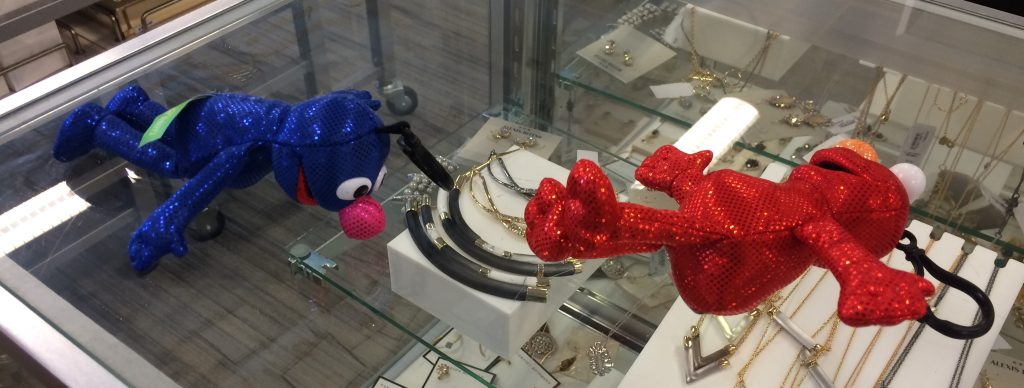 Elmo and Grover had a rough night